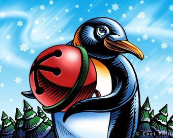 Jingle Penguin