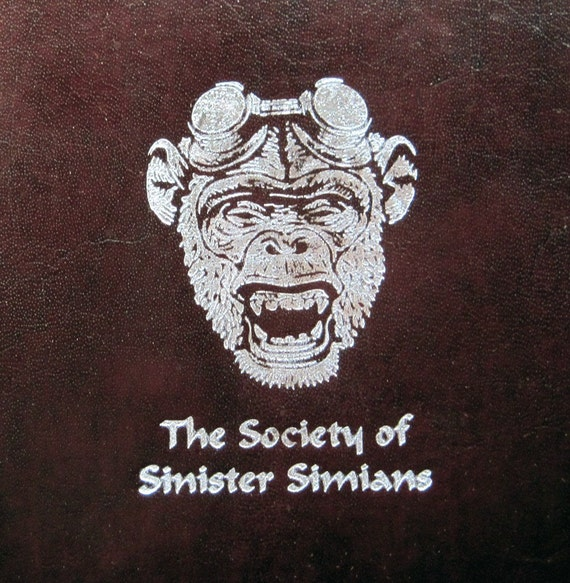 Society of Sinister Simians Limited Edition Book
