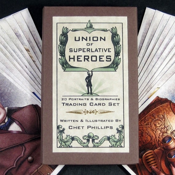 Union of Superlative Heroes Card Set