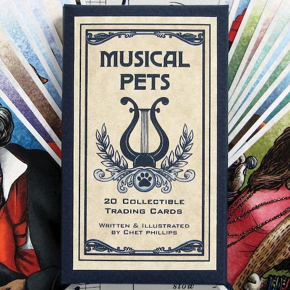 Musical Pets Trading Card Set