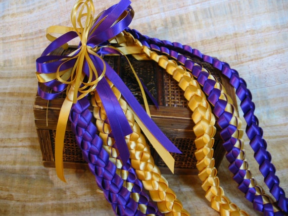 Reserved For Steppie Triple Ribbon Lei