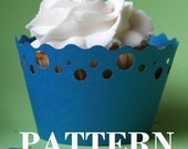 Printable Cupcake Wrappers PDF Pattern