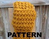 Knit Scarf Pattern  PDF