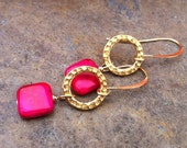 Pink and Gold Obsession Earrings