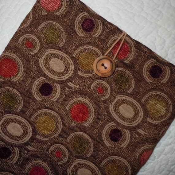 11 inch Macbook Air Sleeve - Luxe Autumn Brown
