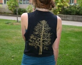 Forest for the trees vest / large...big sale for you...yes you... enter coupon code 40PERCENTOFF at checkout