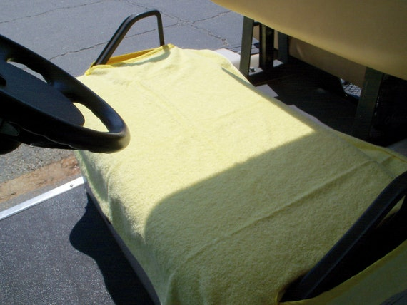 Terry Cloth Golf Cart Seat cover