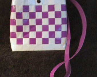 Small Purple Duct Tape Purse