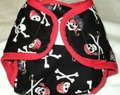 Pirate Booty Diaper cover Small