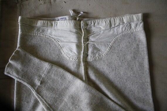 vintage long johns thermal underwear pants