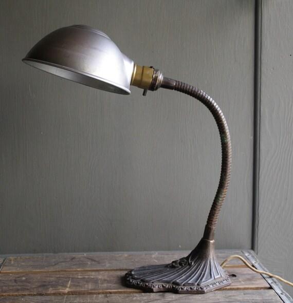 antique gooseneck desk lamp antique office lamp