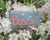 Recycled Peace Pillow
