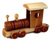 Wooden Train Locomotive