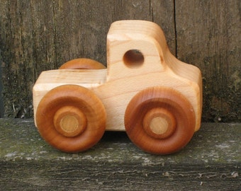 Little Wood Toy Truck - Kids Wooden Toys