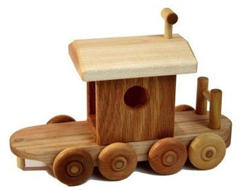 Wooden Train Caboose