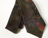 The Sharp Man -  Woodland Birds Necktie by Countess Mara