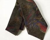 The Sharp Man -  Woodland Birds Necktie by Countess Mara