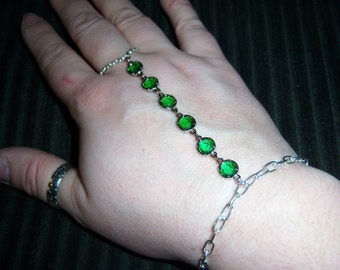 chains of love crystal slave bracelet