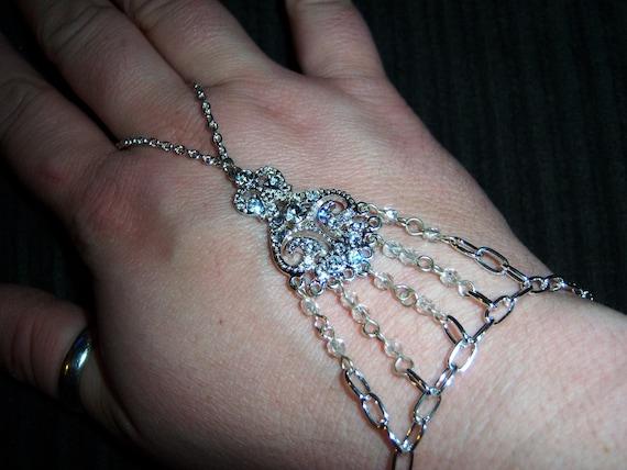 crystal elegance slave bracelet