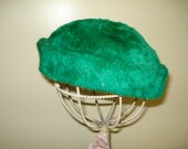 Green Vintage Hat by Duby New York