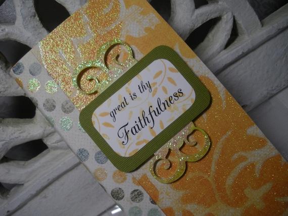 Faithfulness Mini Book