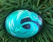 Dragon Egg Painted Garden Rock