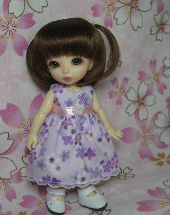 Purple Sakura Dress for Lati Yellow, Pukifee