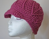 HUGE SALE - Sweeping Beauty Beanie in Pink
