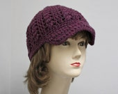 PATTERN - Faux Cabled Brimmed Beanie