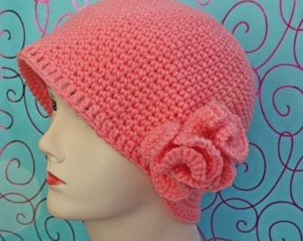 PATTERN - Crochet Under the Sea Beanie - Free International Shipping