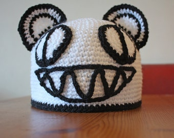MADE TO ORDER - Radiohead Bear Beanie - All Sizes