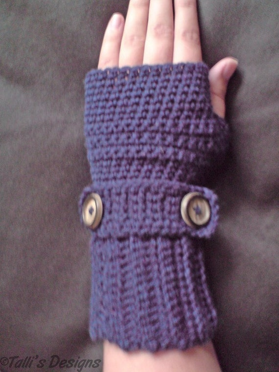 PATTERN - Crochet Ribbit Fingerless Gloves - Free International ...