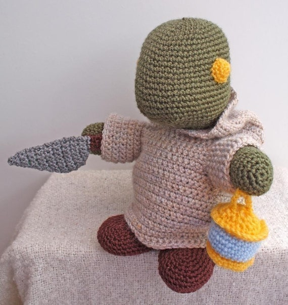 PATTERN - Crochet Tonberry - Free International Shipping