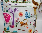 Zipper Snap Handle Wet Bag in Juicy Jungle