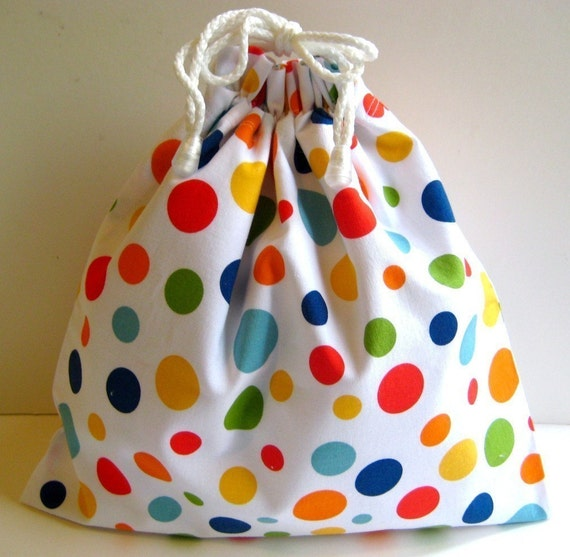 Small Wet Bag in Play Lolli Polka Dot