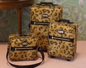Dollhouse Miniature Luggage - 1/12th Scale