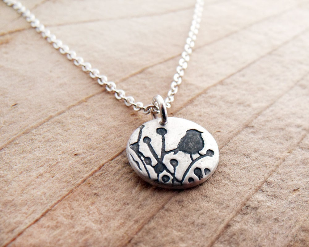 bird jewelry tiny bird necklace silver bird jewelry bird pendant 1598