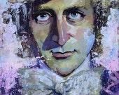 Willy Wonka 10x14 Print