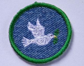 Dove Iron-on Patch / Merit Badge