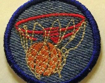 Basketball hoop Patch / Merit Badge