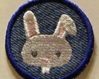 Bucktooth Bunny Rabbit Patch / Merit Badge
