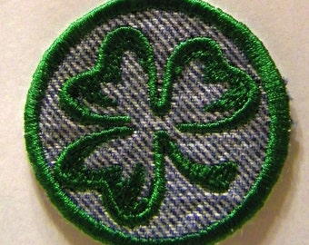 Shamrock Patch / Merit Badge