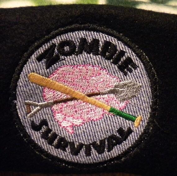 Zombie Survival patch/merit badge