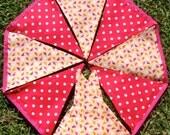 Bunting / flags / pennant strings - Sweet Summer Birds
