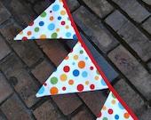 Bunting / Flags / Pennant Strings - Michael Miller Lolli Dot