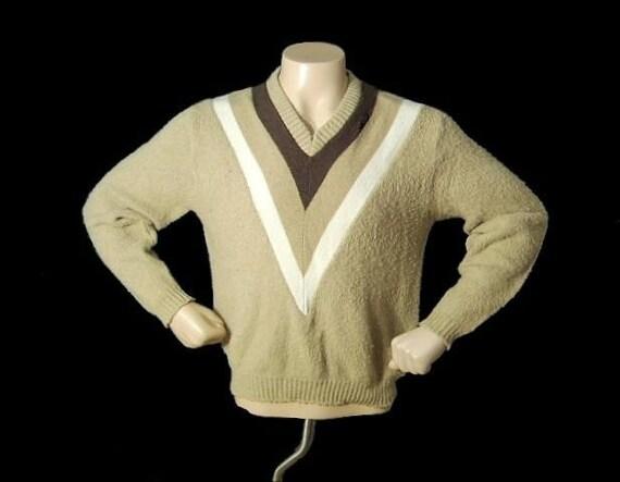 SALE Vintage 60's Men's MOHAIR Pullover Sweater L