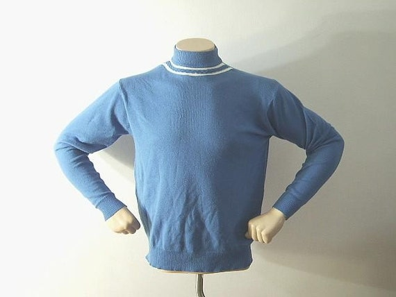 TREKKIE Vintage 60's Mod Nerd Men's Pullover Sweater L