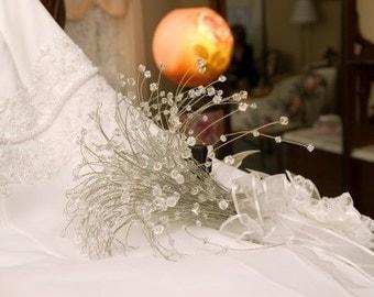 Swarovski Crystal Beaded Bridal Bouqet Swarovski Beads