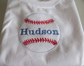 Long Sleeved Baseball T-shirt - Personalized