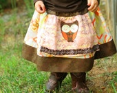Apron Twirl Skirt, Sleepy Owl Fall 2010